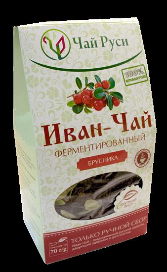 Bild von Ivan-Tschaj mit roter Heidelbeere